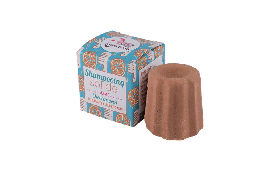 Un shampooing solide Lamazuna