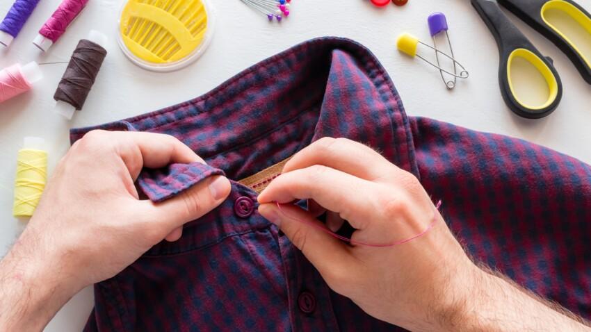 Couture sans machine : comment recoudre un bouton en moins de deux minutes ?
