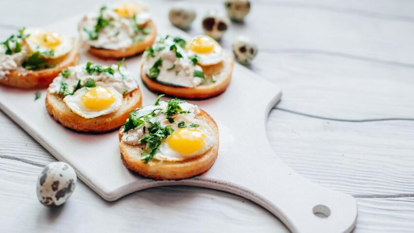 Nos meilleures recettes avec des œufs de caille