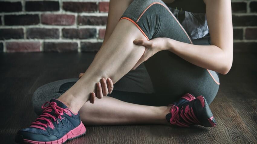 Crampe au mollet: d'où vient-elle et comment la soulager?