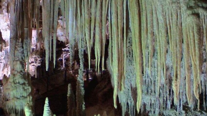 Zoom sur la grotte classée de Clamouse, dans l'Hérault