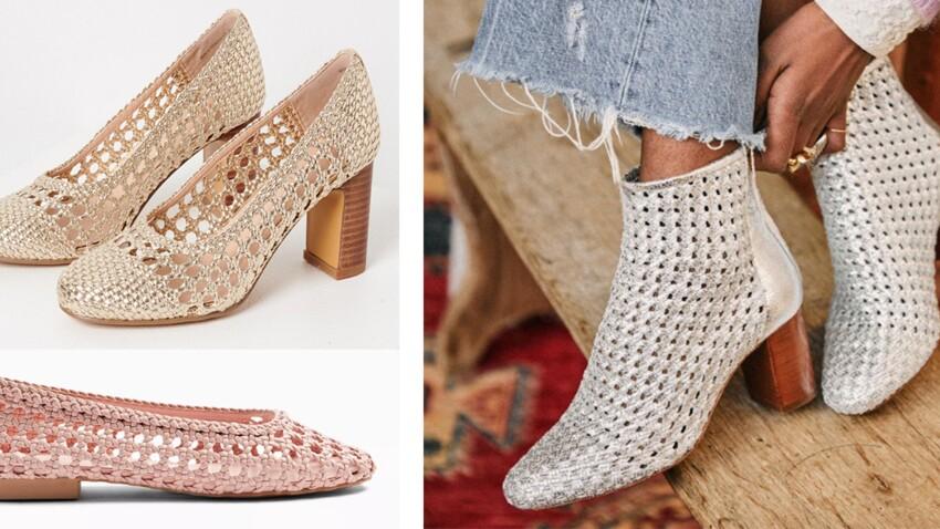 Chaussures tressées : la tendance canon à adopter cet été 2020