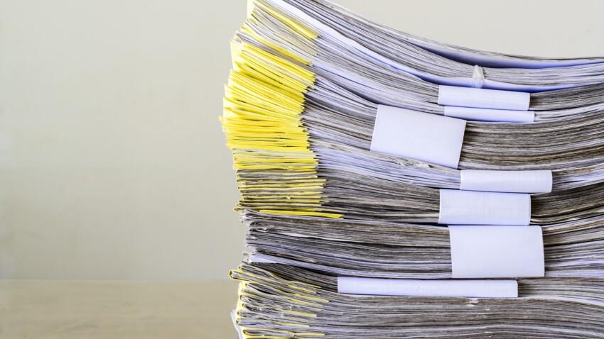 Grand ménage de confinement : combien de temps faut-il garder les documents administratifs, contrats, factures, quittances...?