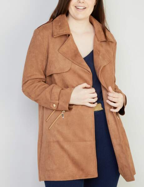 Mode ronde : le trench