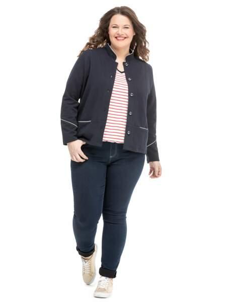 Mode ronde : la veste col mao