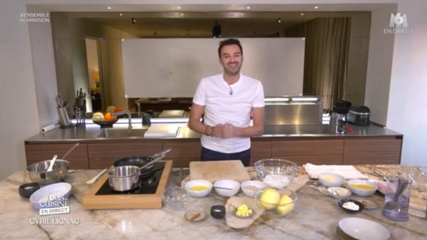 """""""Tous en cuisine"""" : les ingrédients des recettes de Cyril Lignac du vendredi 3 avril 2020"""
