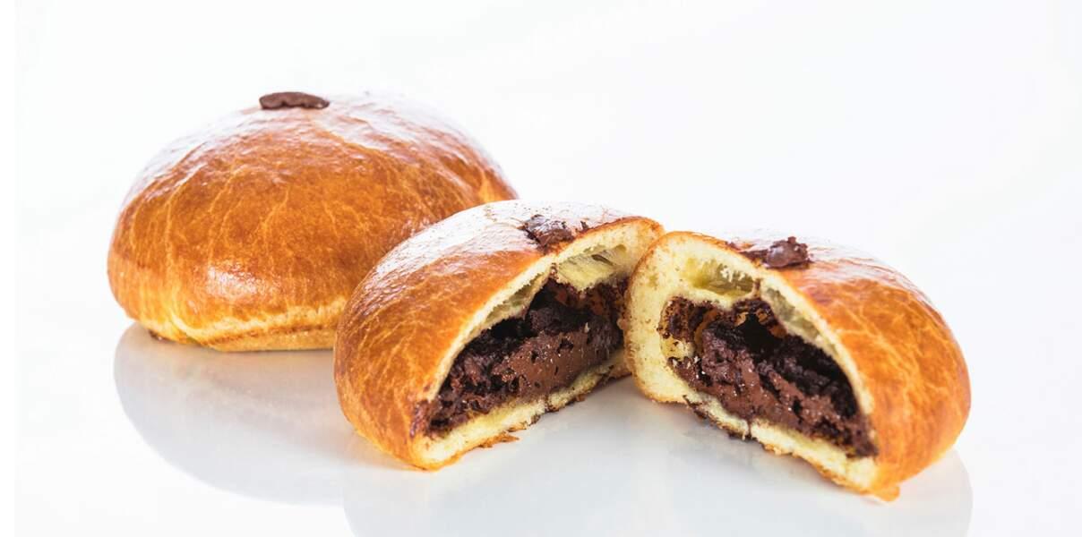 Brioche au chocolat de la Maison Bernachon