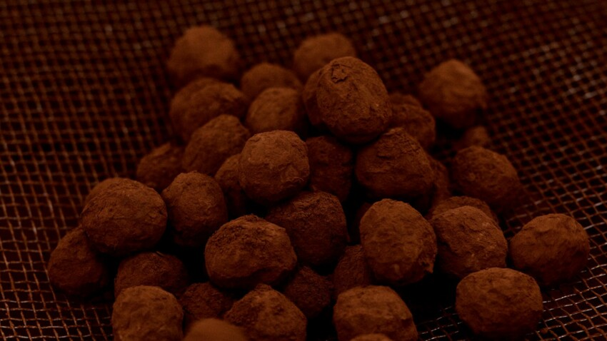 Truffes au chocolat de Patrick Roger