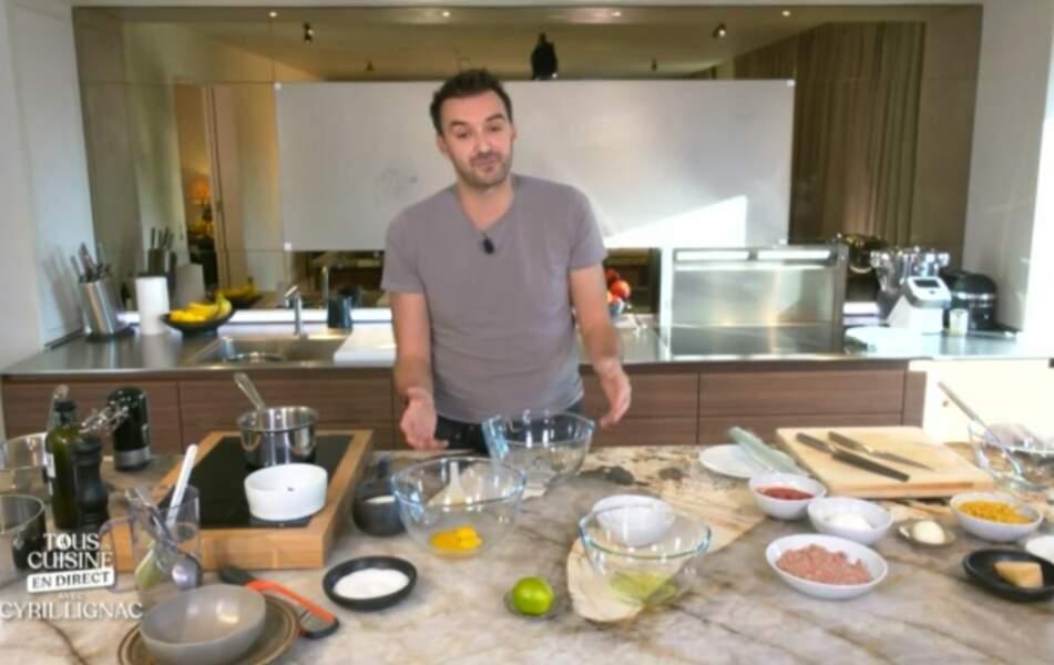 """""""Tous en cuisine"""" : la recette des œufs à la neige et au citron vert de Cyril Lignac"""