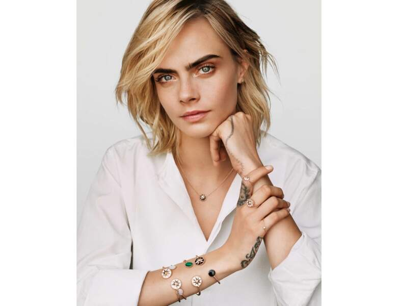 Tatouage de star : Cara Delevingne