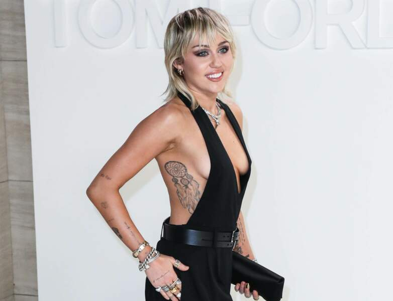 Tatouage de star : Miley Cyrus
