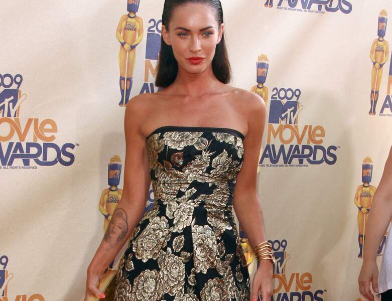 Tatouage de star : Megan Fox