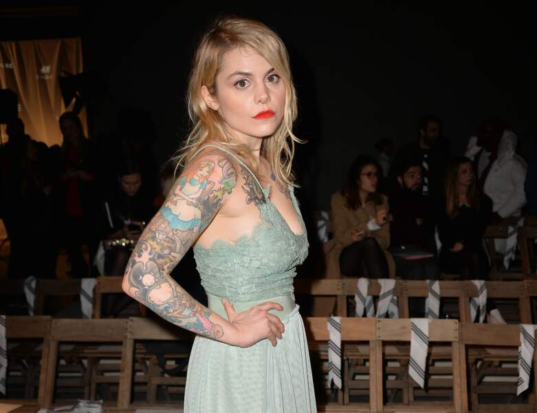 Tatouage de star : Béatrice Martin (Coeur de pirate)