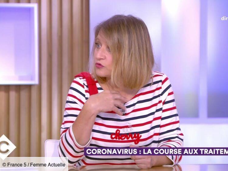 """""""Transmission par l'air"""" du coronavirus : le médecin Karine Lacombe fait des révélations dans """"C à vous """""""