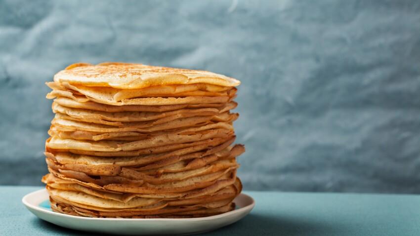 Pancakes sans sucre : nos meilleures recettes faciles et rapides