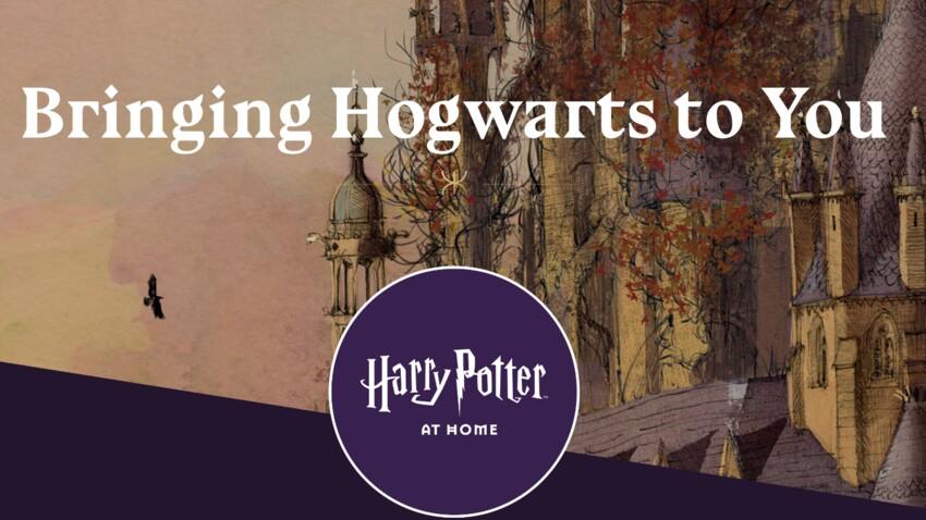 """Découvrez """"Harry Potter at home"""" : un cadeau de confinement magique de J.K Rowling pour les familles"""