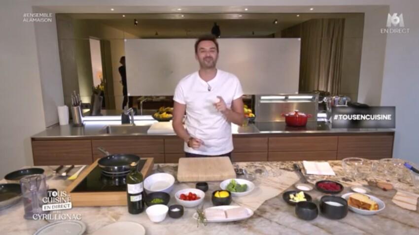 """""""Tous en cuisine"""" : les ingrédients des recettes de Cyril Lignac du vendredi 10 avril 2020"""