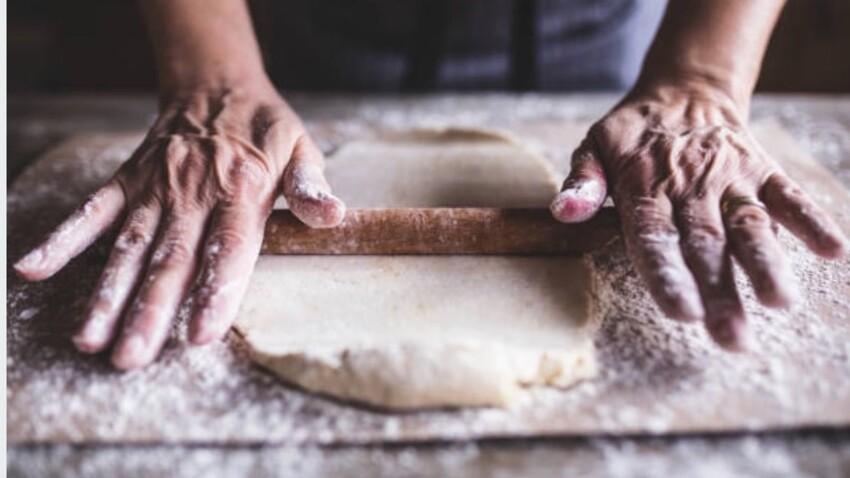 La recette de la pâte à tarte et de la pâte à pizza en moins de 5 minutes