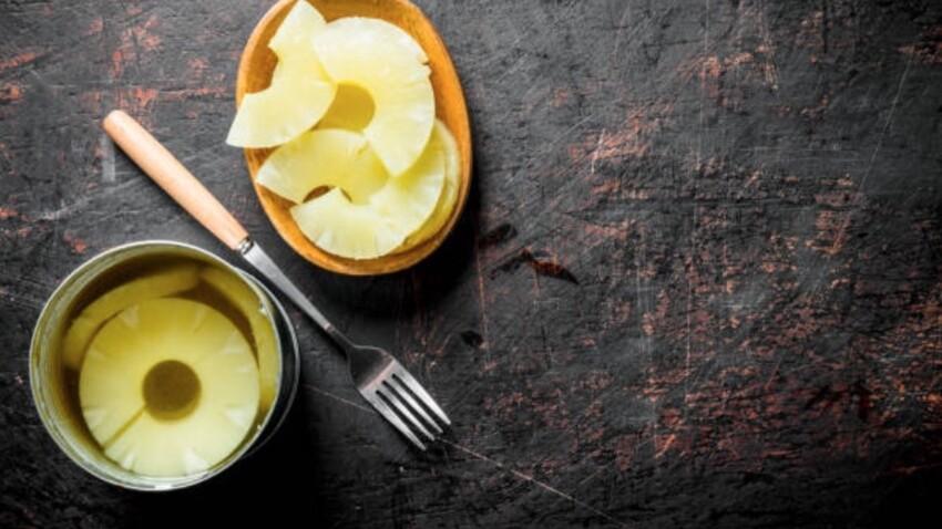 Confinement : que faire avec une boîte d'ananas ?