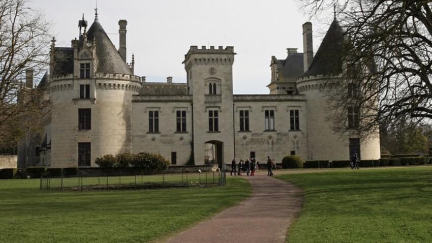 Zoom sur le château de Brézé