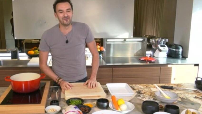 """""""Tous en cuisine"""" : la recette de la salade de pâtes et pesto rosso de Cyril Lignac"""