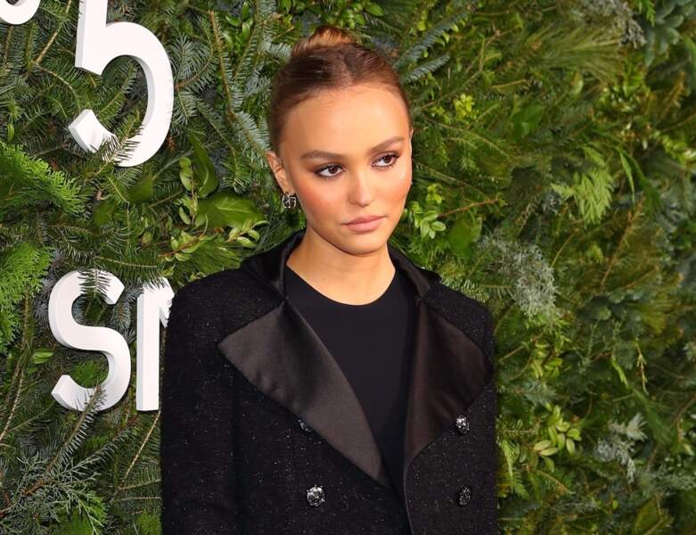 Coiffure facile : Lily-Rose Depp