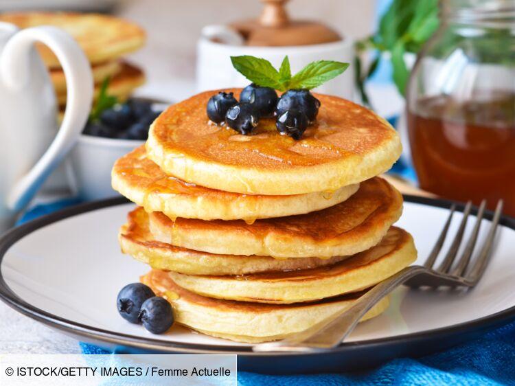 Pancake sans lait : découvrez les recettes de cuisine de Femme Actuelle Le  MAG