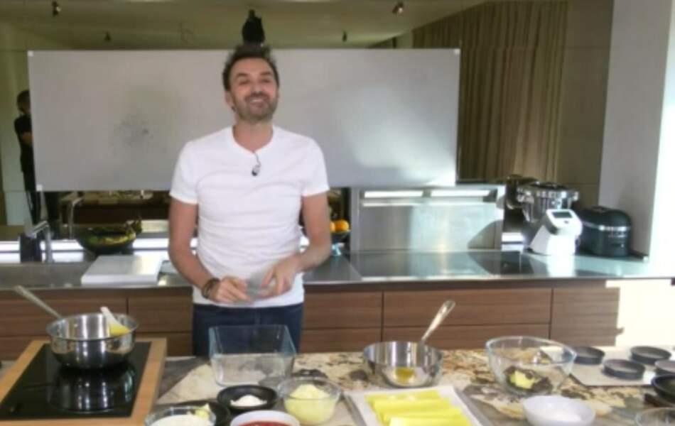 """""""Tous en cuisine"""" : la recette des petits pois vinaigrette au curry, yaourt acidulé de Cyril Lignac"""