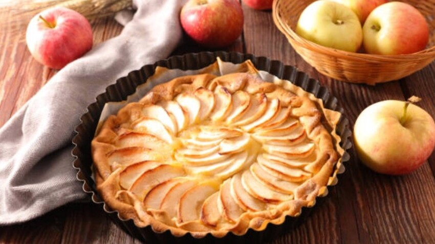 Tortilla-tarte aux pommes