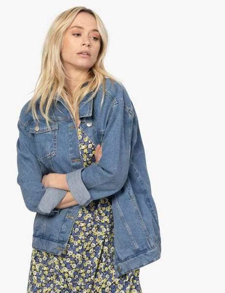 Veste en jean : vintage