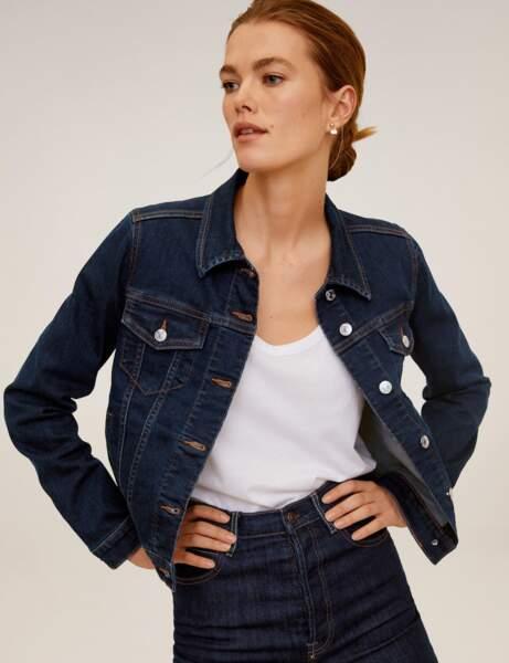 Veste en jean : trendy