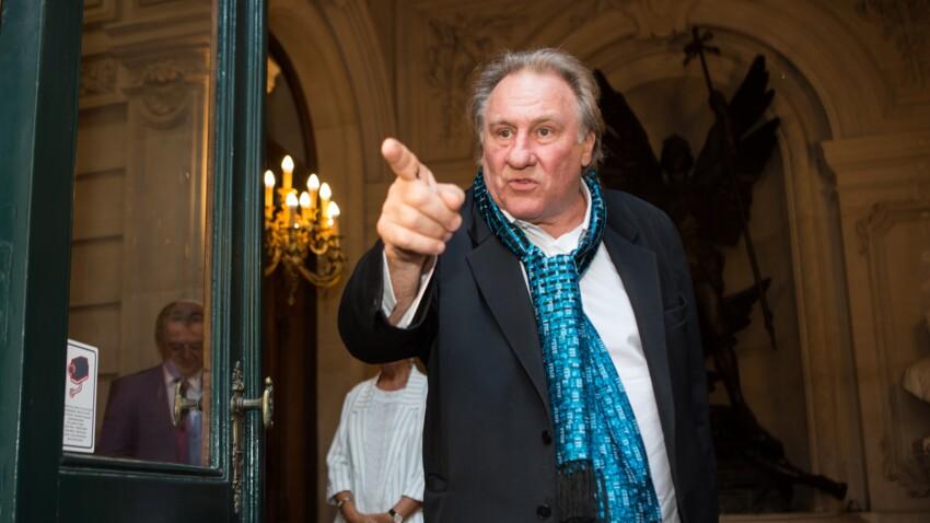 """Gérard Depardieu est """"remonté"""" contre Emmanuel Macron"""