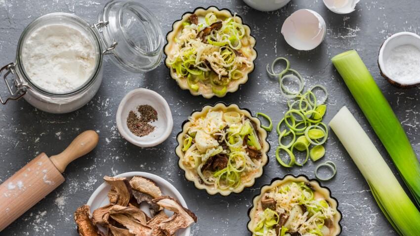 Quiche végétarienne : nos recettes faciles et sans viande qui changent de la quiche lorraine