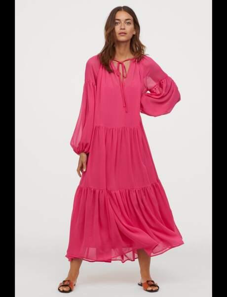 Tendance robe : rose shoking