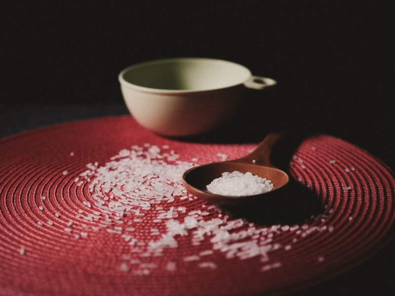 Laver les calories du riz