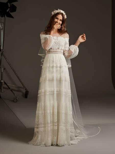 Robe romantique - Pronovias