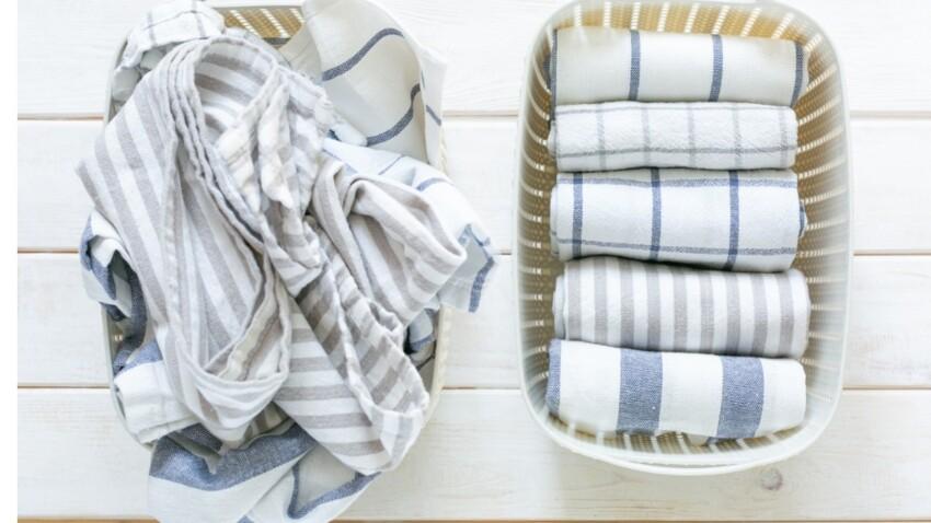 Rangement maison : 4 astuces pour bien plier et ranger son linge de lit