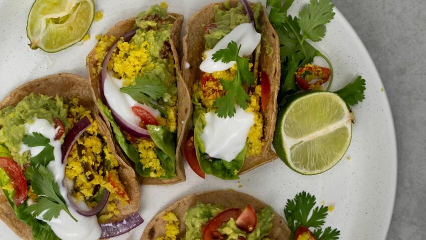 Tacos vegan et sans gluten