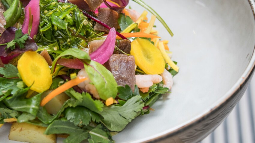 Salade iodée