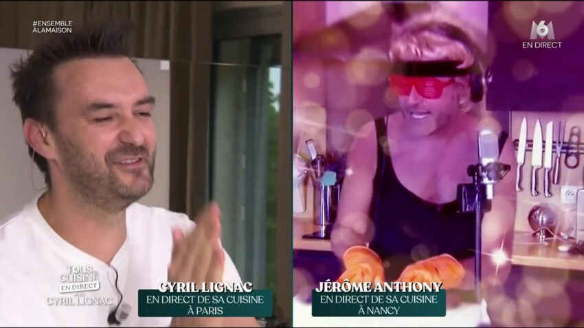 """""""Tous en cuisine"""" : Cyril Lignac poussé à bout par Jérôme Anthony :""""Il faut que tu arrêtes !"""""""