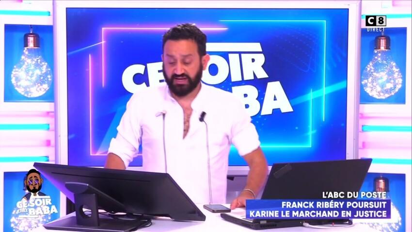 """""""Ce soir chez Baba"""" : Karine Le Marchand choque les chroniqueurs après sa blague sur Franck Ribéry"""