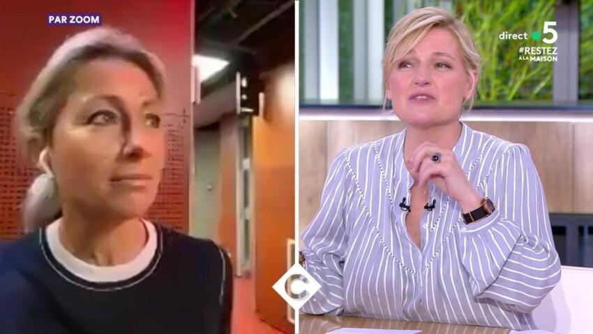 Anne-Elisabeth Lemoine : son duplex hilarant (et raté) pour l'anniversaire d'Anne-Sophie Lapix