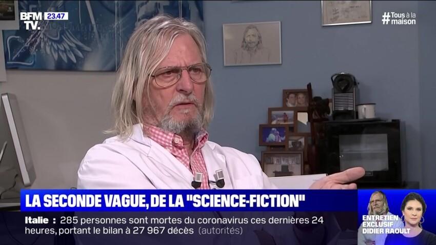 Didier Raoult : l'inquiétude du professeur concernant les séquelles du coronavirus pour les patients guéris