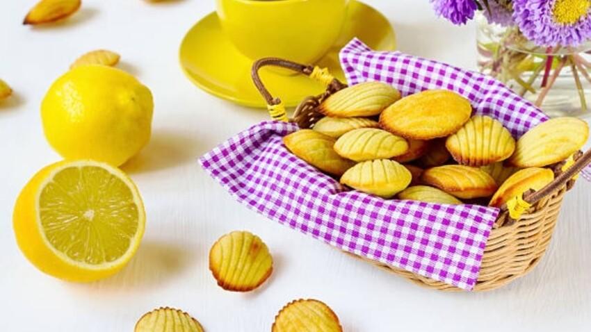 Cyril Lignac : sa recette de madeleines au citron trop facile