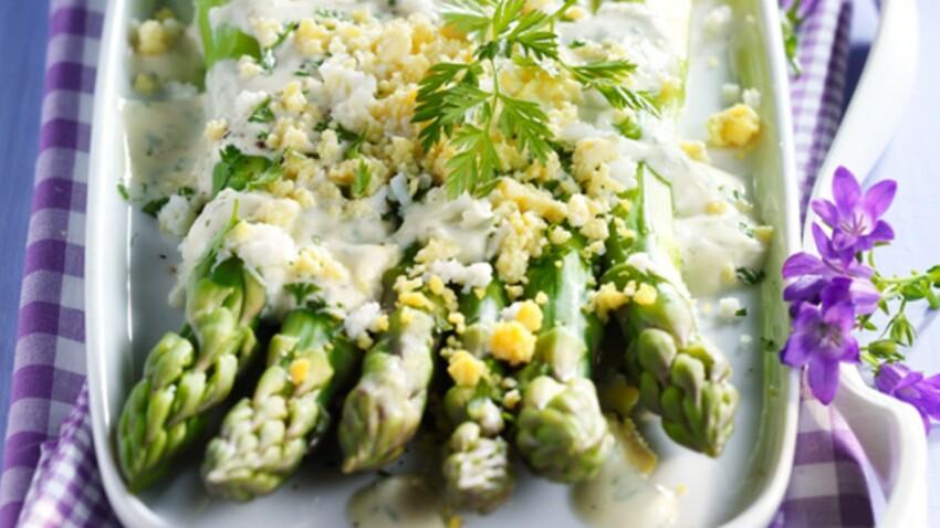 10 sauces pour accompagner les asperges vertes et blanches