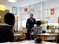Emmanuel Macron : la grosse bourde du Président lors de sa visite dans une école