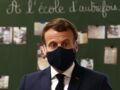 Emmanuel Macron déstabilisé par la remarque d'un élève lors de sa visite dans une école