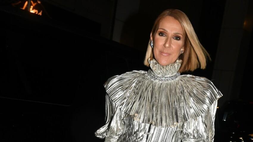 Céline Dion : mini robe ultra-moulante et talons hauts perchés (Wow !)