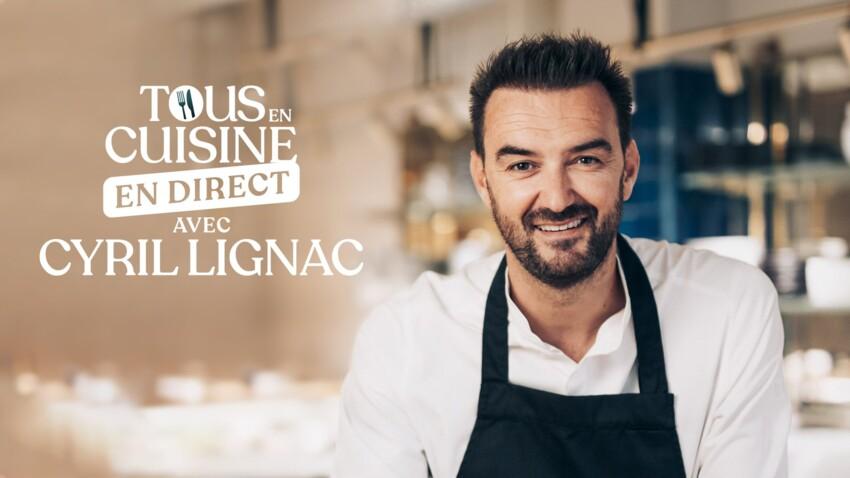 """""""Tous en cuisine"""" : les recettes et les ingrédients du vendredi 25 septembre de Cyril Lignac"""