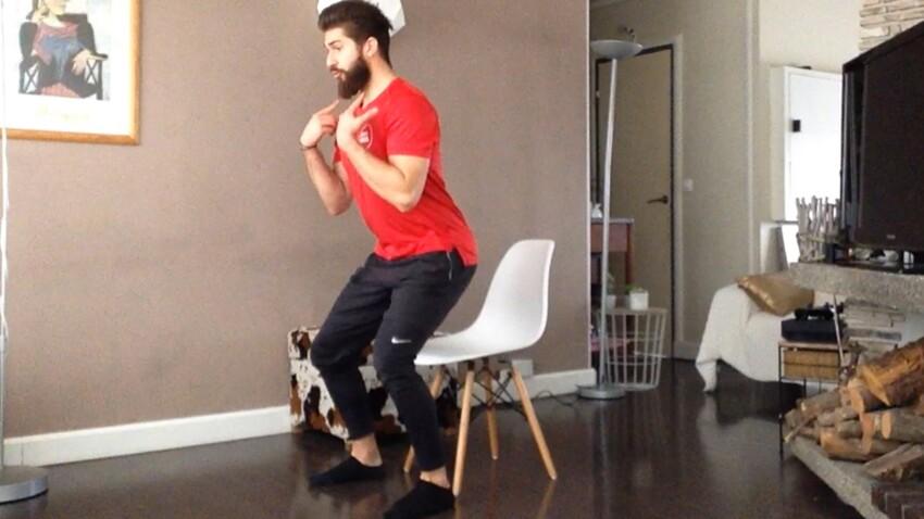 Cours de gym + 50 ans : 5 exercices faciles avec une chaise